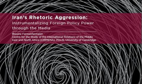 Iran Rhetoric Aggression